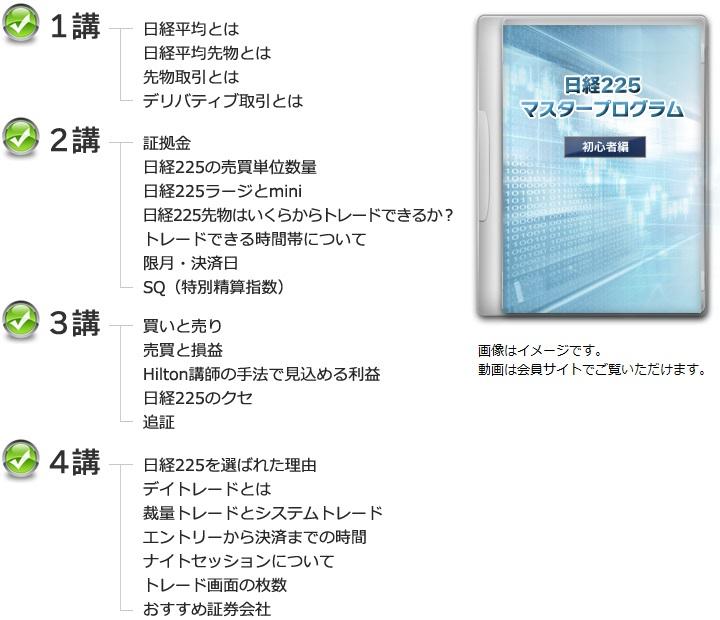 【Mr.Hilton】日経225マスタープログラム